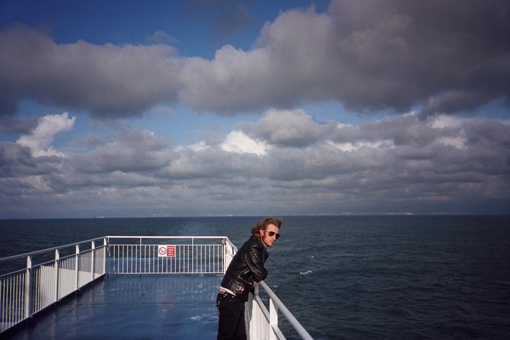 Frontman at sea